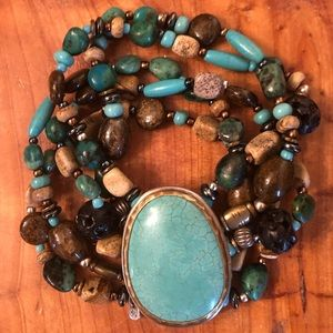 🎉HP🎉B1991 Silpada Multi-Strand Stretch Bracelet